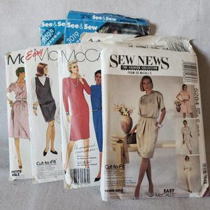 Vintage Misses' Sewing Pattern Bundle McCall's